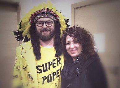 Dzidzio с агентом BnMusic в Украине