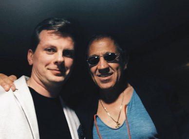 Двойник Адриано Челентано с агентом BnMusic