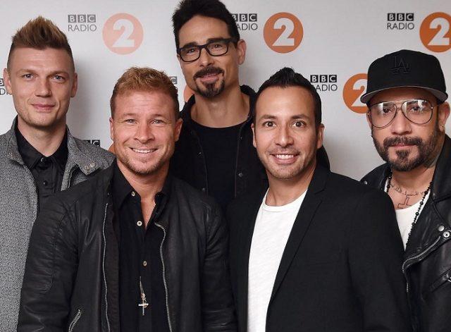 Страница Backstreet Boys на сайте официального букинг-агента Bnmusic