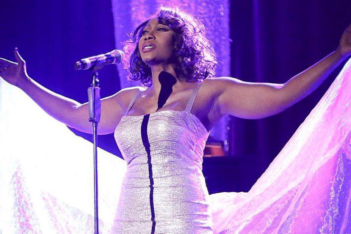 Whitney Houston tribute (Coco Fletcher)