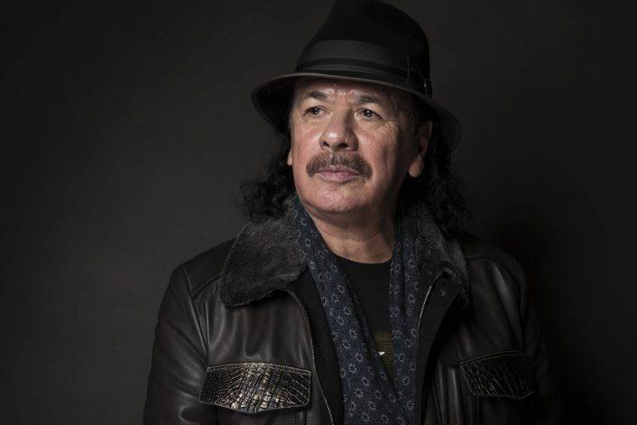 Страница Santana на сайте официального букинг-агента Bnmusic