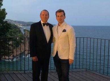 Frank Sinatra tribute show на частном мероприятии в Испании