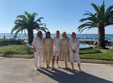 ABBA Mania на частном празднике в Греции букинг-агентом