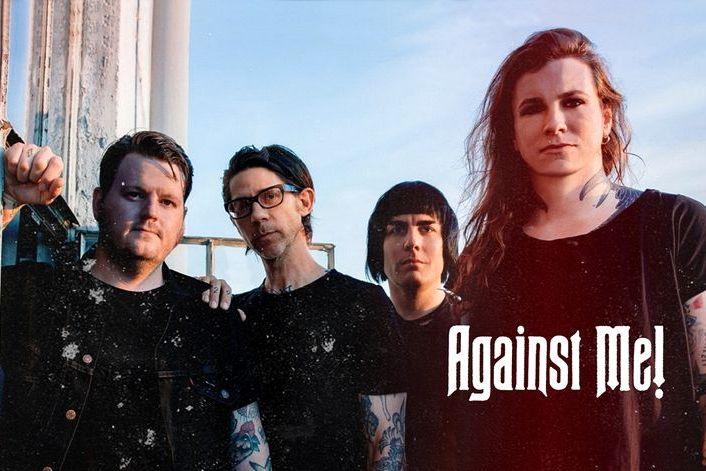 Against Me! - заказать концерт в BnMusic